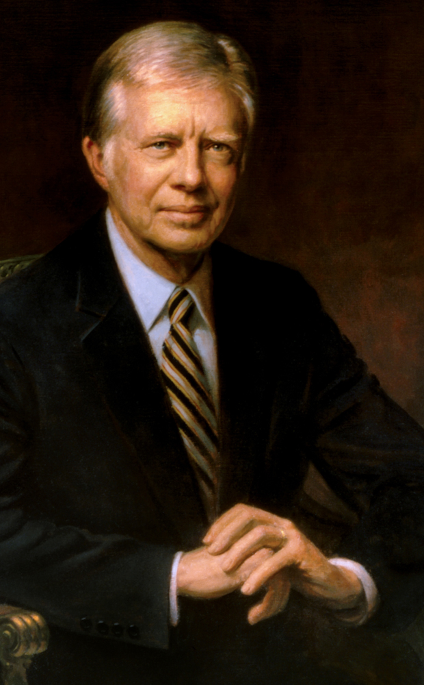 Portrait of Jimmy Carter