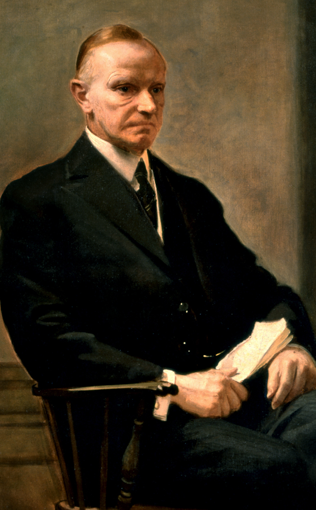 Portrait of Calvin Coolidge