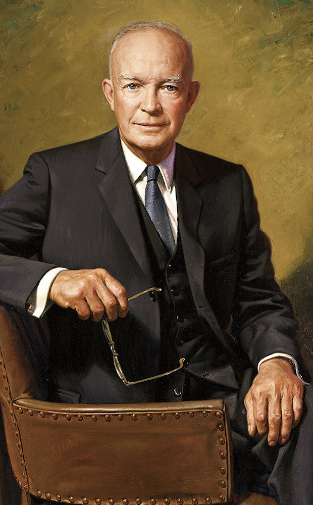 Portrait of Dwight D. Eisenhower