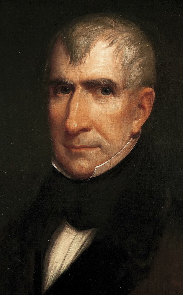 Portrait of William Harrison
