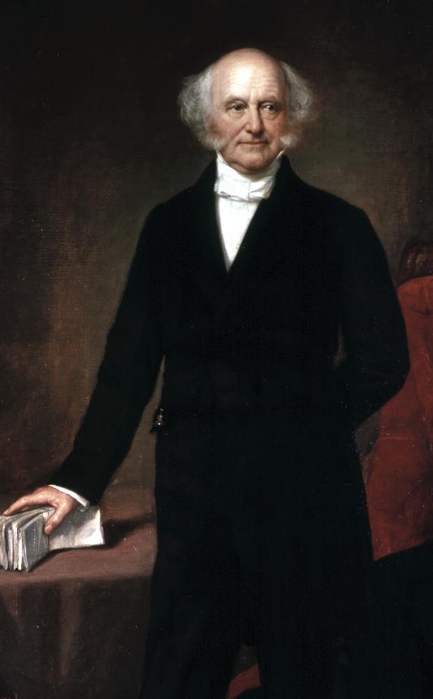 Portrait of Martin Van Buren